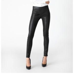 J Brand Edita Mid-Rise Leather Legging BNWT
